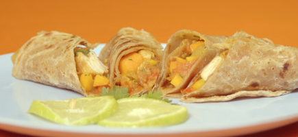 Chicken chapati 2