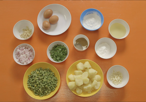 Pea Patties Ingredients